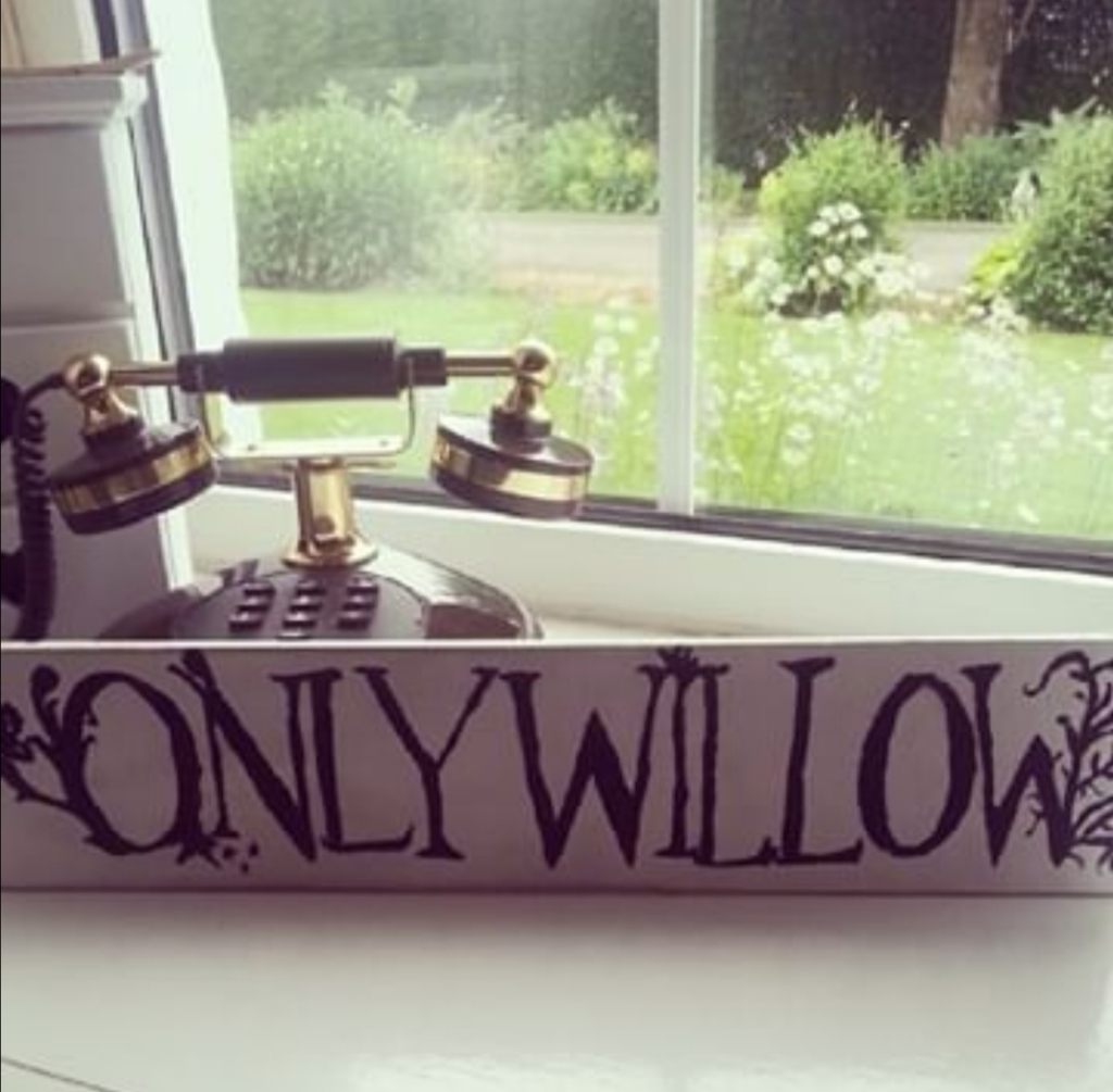 First OnlyWillow sign